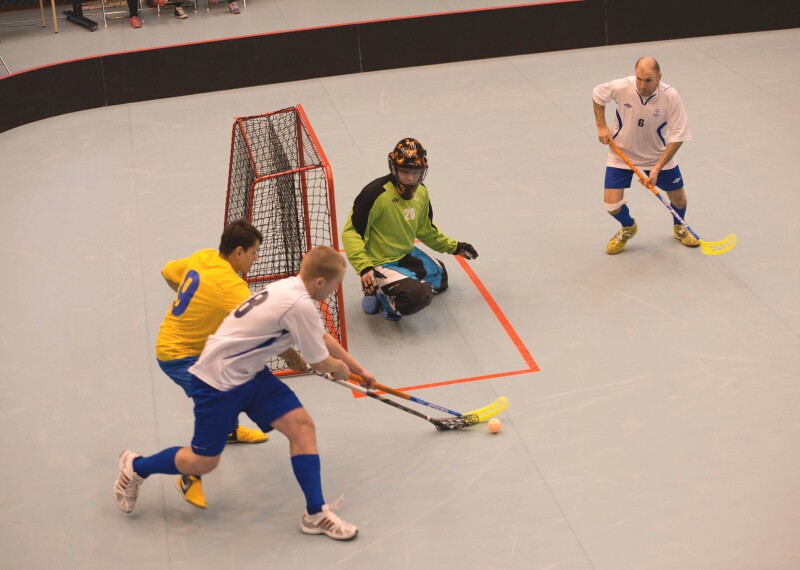 Floorball Banner