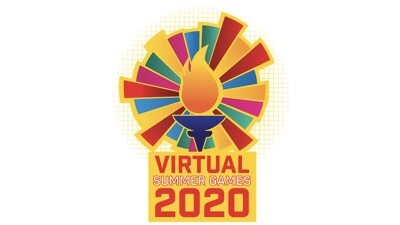 Virtual Summer Games 2020 logo.