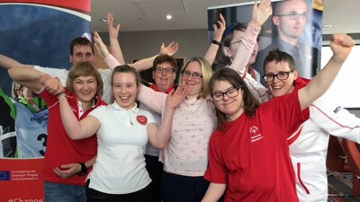 Europe (arms raised in the air): Special Olympics Europe Eurasia Athlete Input Council had their annual meeting where they provided input to the regional leadership and determined their goals for 2019.