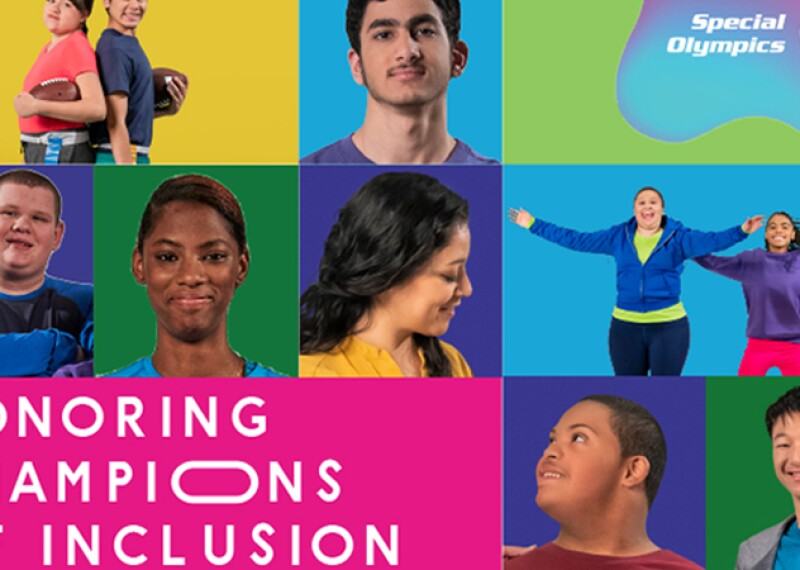 Branding and imagery for Honoring Champions of Inclusion