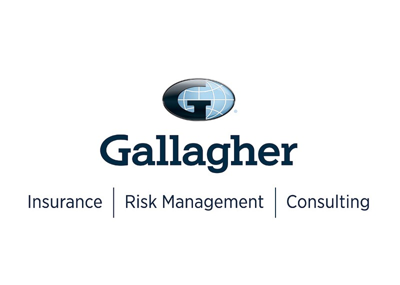 Gallagher logo with text under that reads: Insurance | Risk Management | Consulting