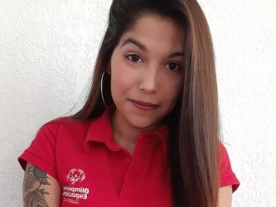Diana López, Coordinadora de Atletas Líderes, Olimpiadas Especiales Guatemala.