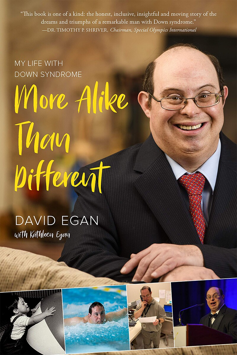 David Egan's book cover: More Alike than Different