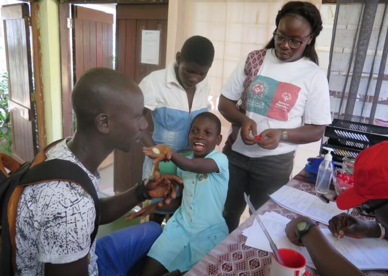 Medical exam in Guinea-Bissau
