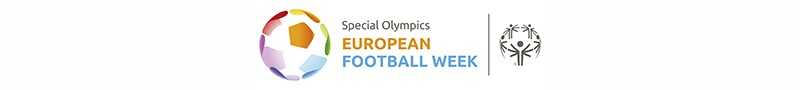 Special Olympics European Football Week logo.