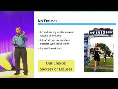 MUST WATCH!! Motivational Speech 1% Better - Chris Nikic