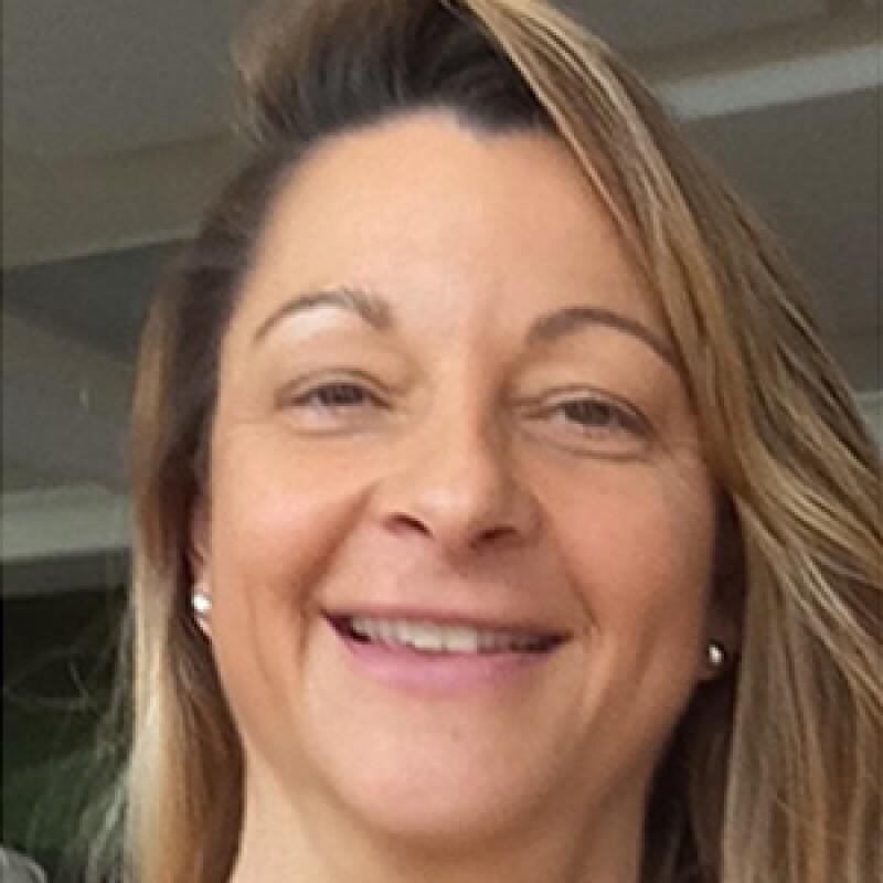 Tina Davies smiling