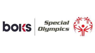 BOKS and Special Olympics logo.
