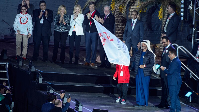 Spectacular Ceremony Launched Countdown to Abu Dhabi 2019