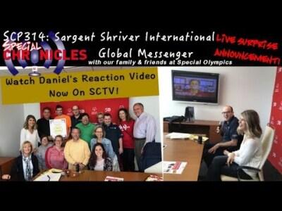 SCTV314: Daniel's Reaction Video Sargent Shriver International Global Messenger