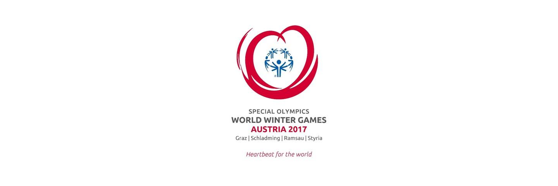 1890x630 - Austria 2017 Logo: Special Olympics World Winter Games Austria 2017 : Graz | Schladming | Ramsau | Styria : Heartbeat for the world.