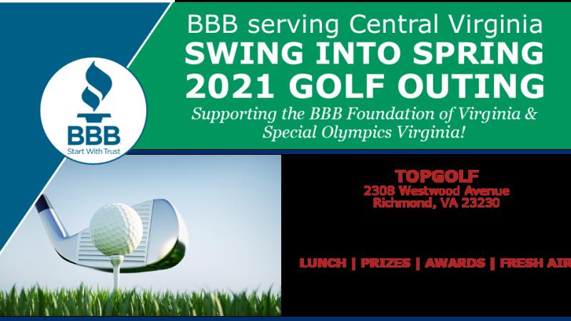 Better Business Bureau Golf Tournament