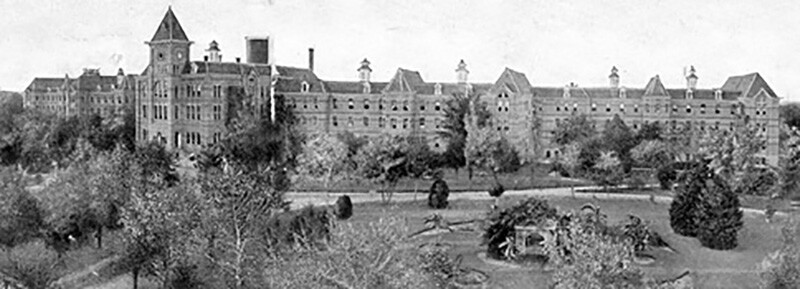 Terrell State Hospital in 1890.